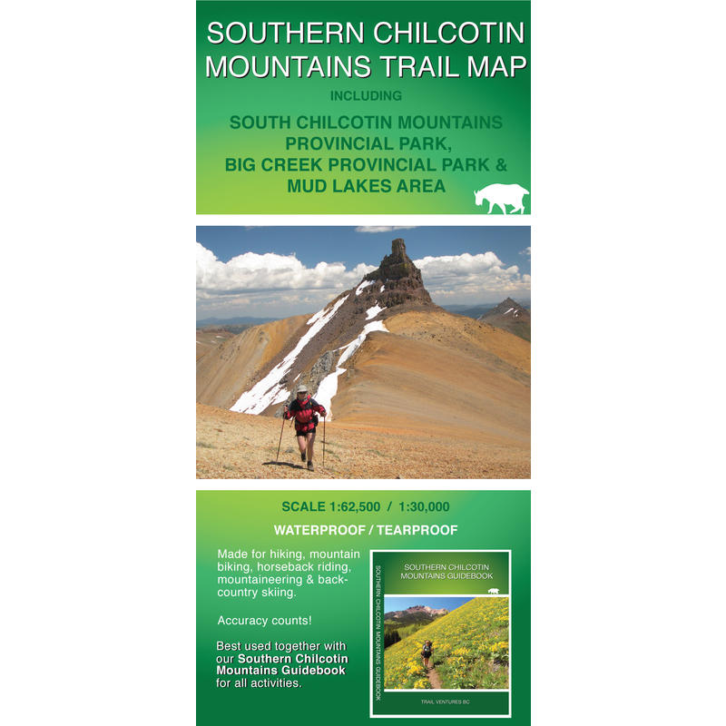 Southern Chilcotin Mountains Trail Map 3rd Edition