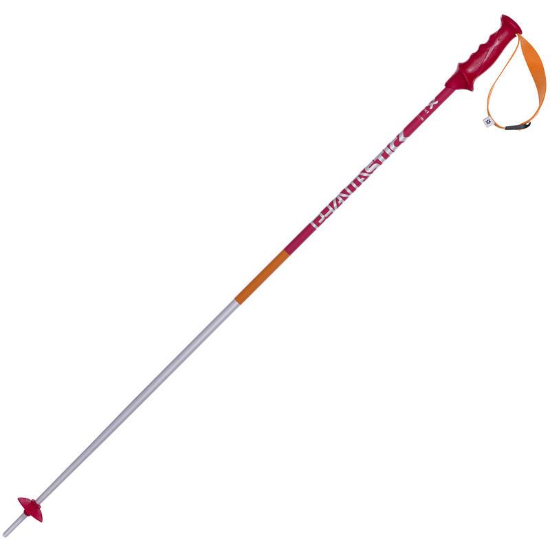 Bâtons de ski Phantastick (paire) Rouge
