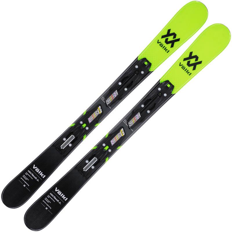 Skis Mini Revolt Jr. avec fixations 4.5