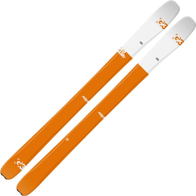 Skis ROAMr 100 ELLE Orange/blanc
