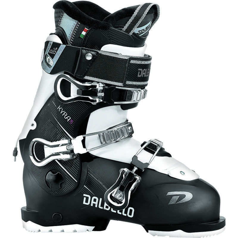 Bottes de ski Kyra 75 Noir/Blanc