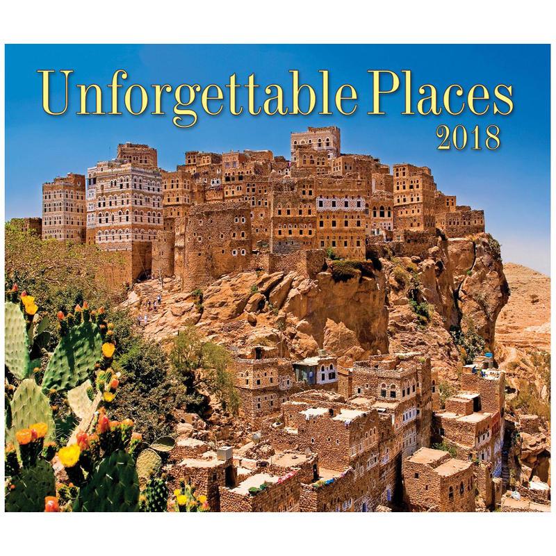 2018 Unforgettable Places Calendar