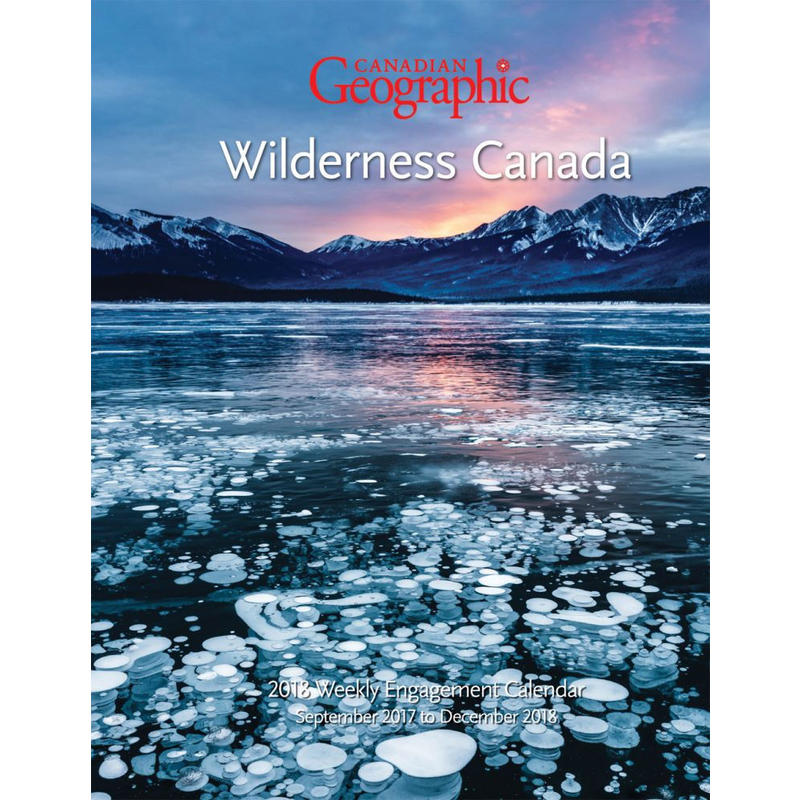 Calendrier Wilderness Canada Engagement 2018