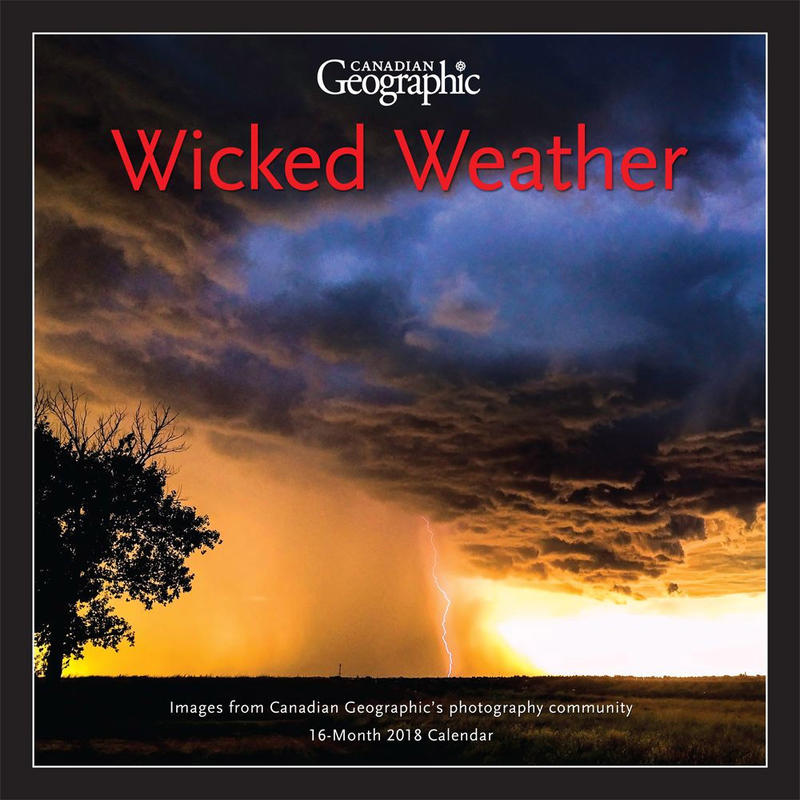 Calendrier Wicked Weather 2018