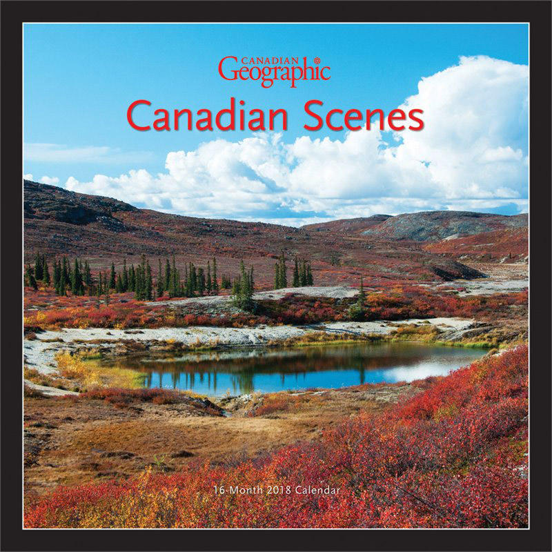 Calendrier Canadian Scenes 2018