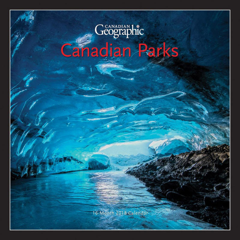 Calendrier Canadian Parks 2018