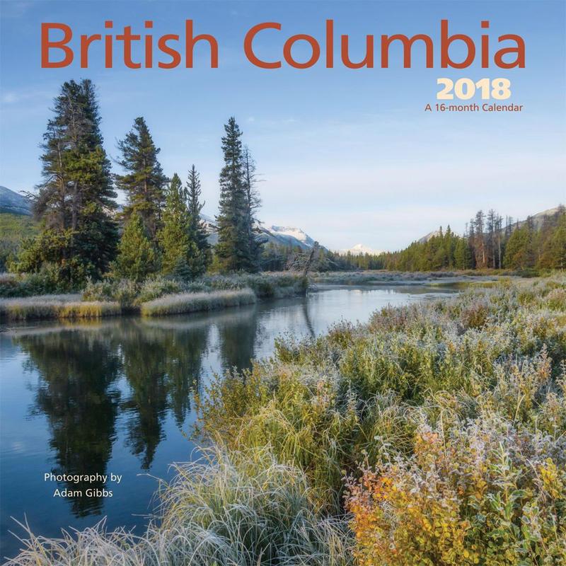 Calendrier Colombie-Britannique 2018