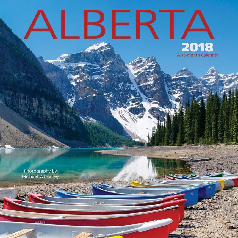 Calendrier Alberta 2018