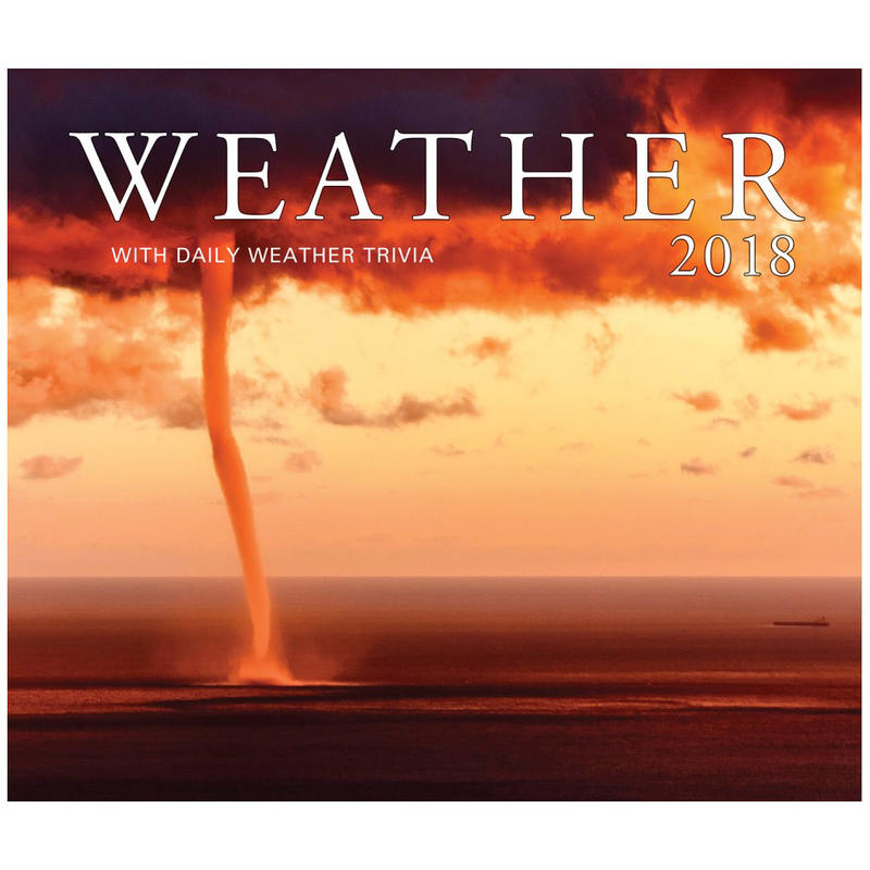 2018 Weather Calendar
