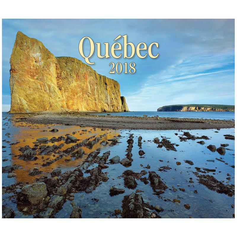 2018 Quebec Calendar