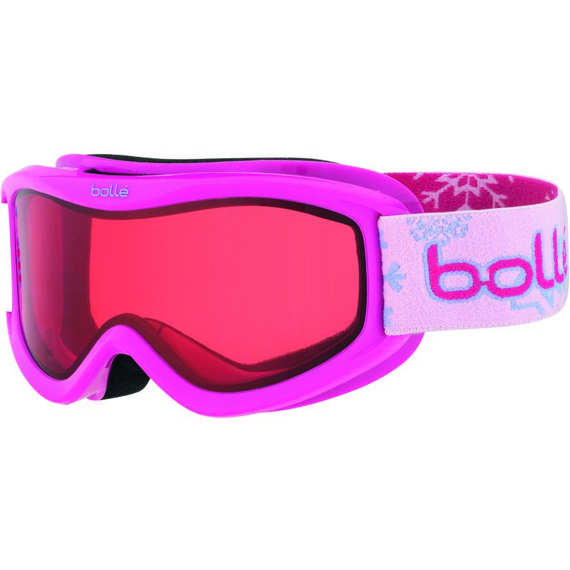 Lunettes de ski Amp Neige rose/Vermillon