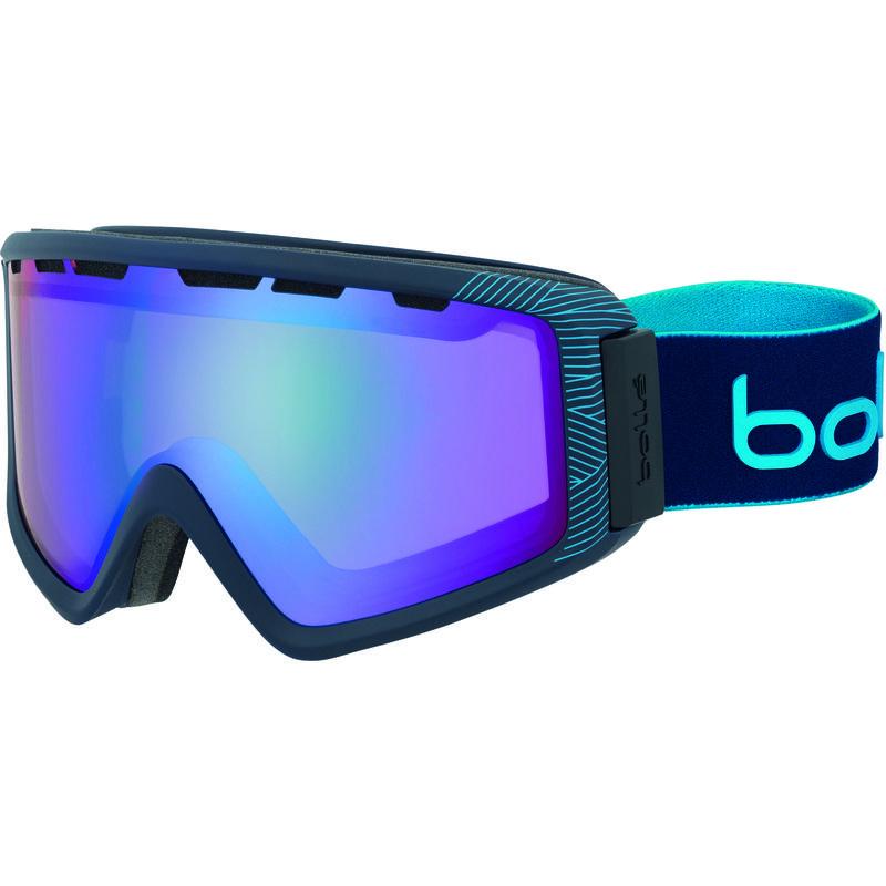 Lunettes de ski Z5 OTG Marine mat naturel bleu/Aurore