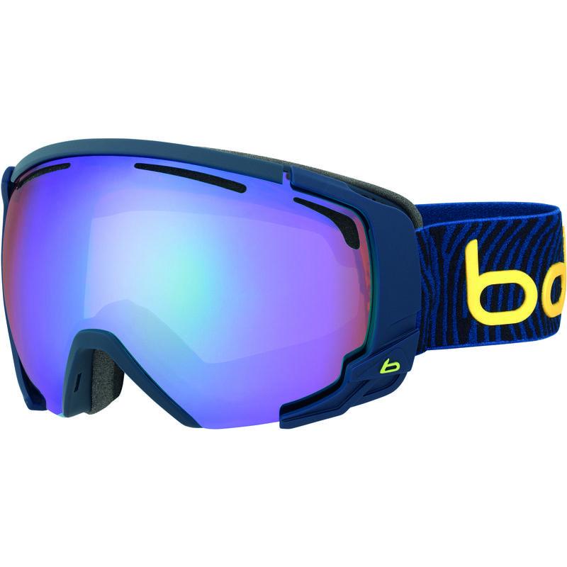 Lunettes de ski Supreme OTG Bleu mat jaune/Aurore