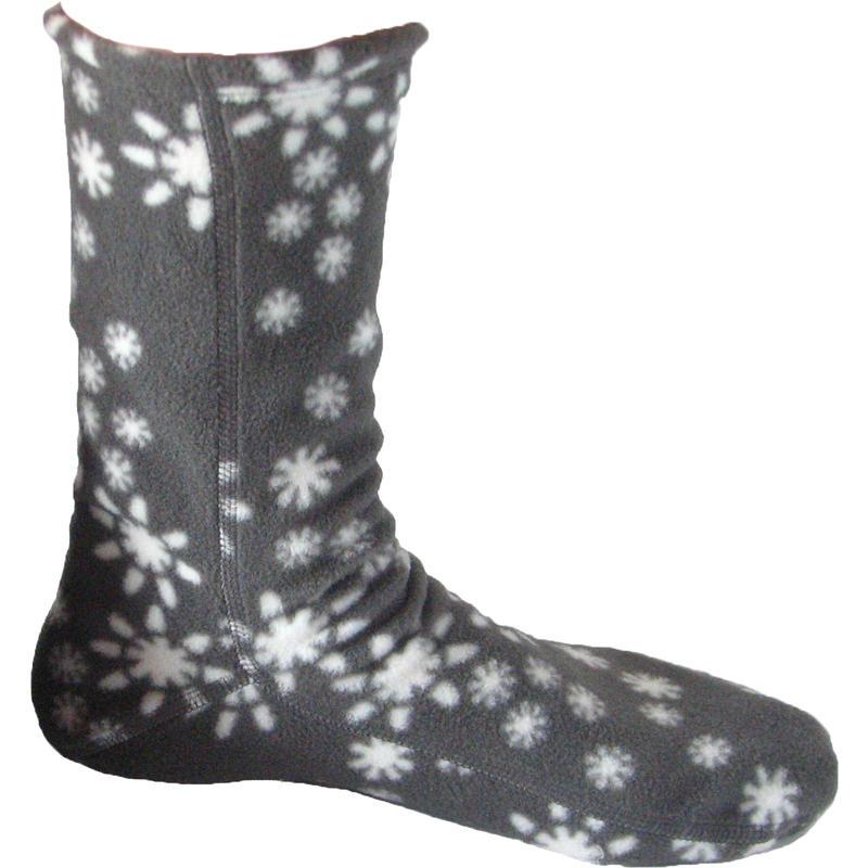 Chaussettes en laine polaire Flocon de neige