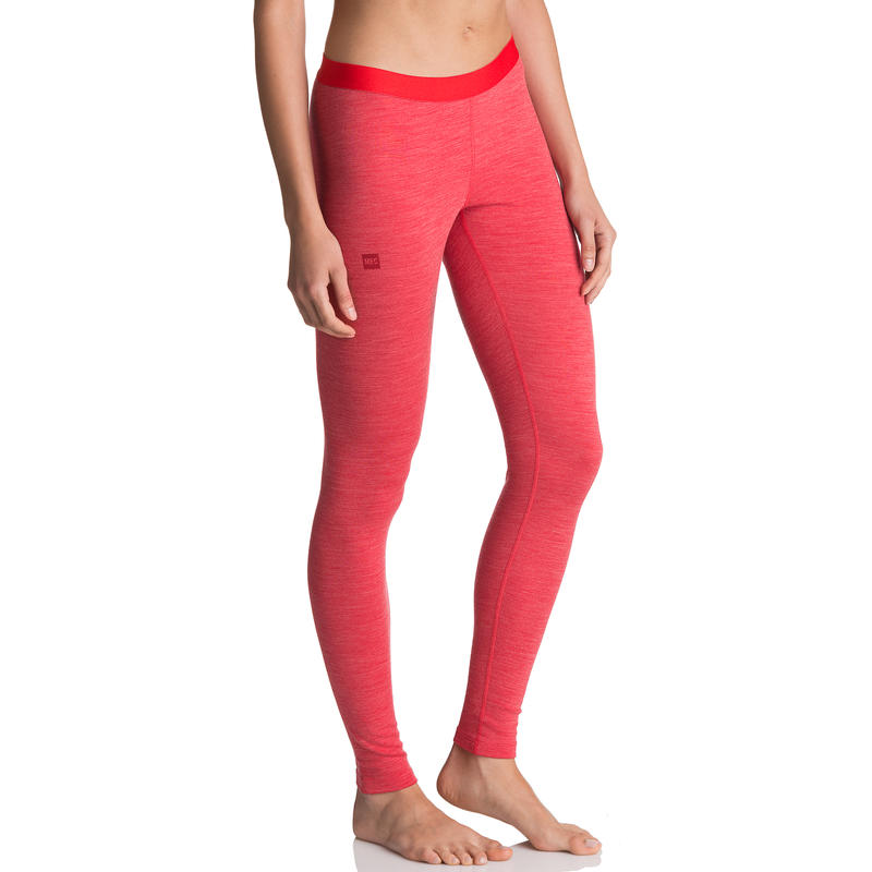 Merino T3 Long Johns Victory Red Heather