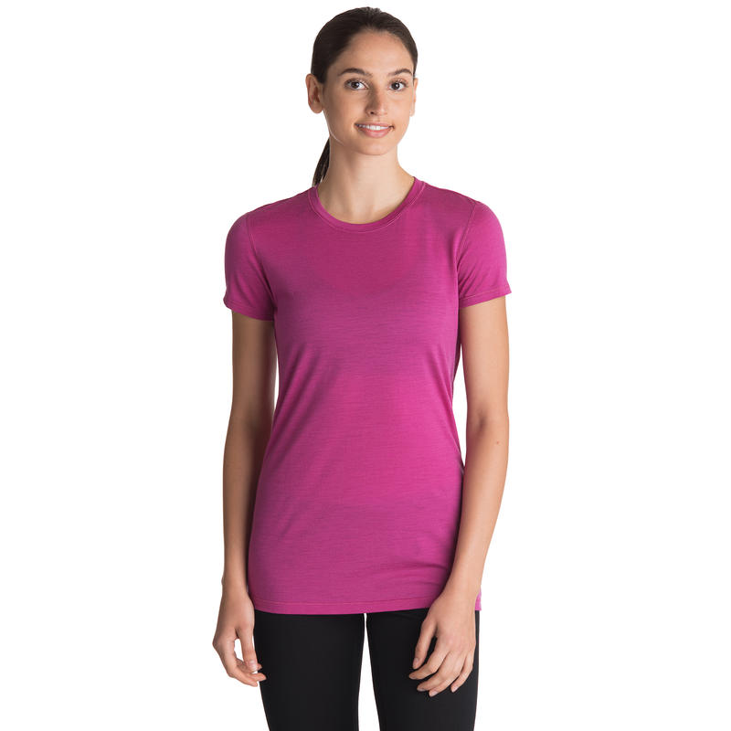Merino T1 Short-Sleeved Crew 2 Cochineal