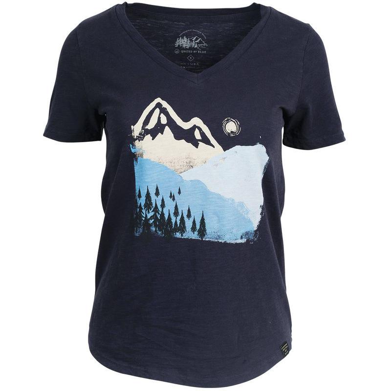 T-shirt Mountain Ink Marine
