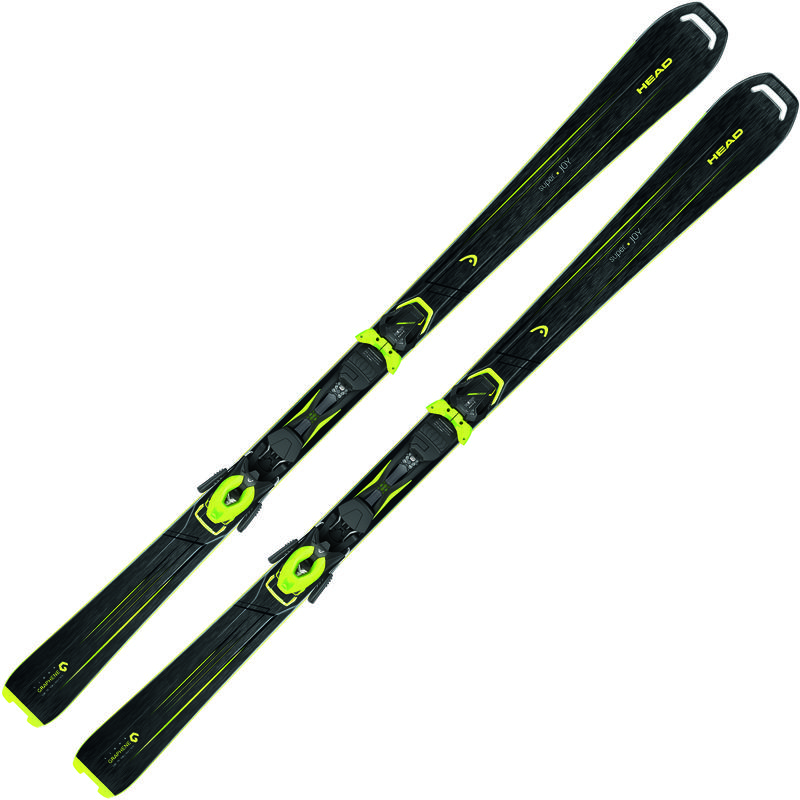 Skis Super Joy avec fixations