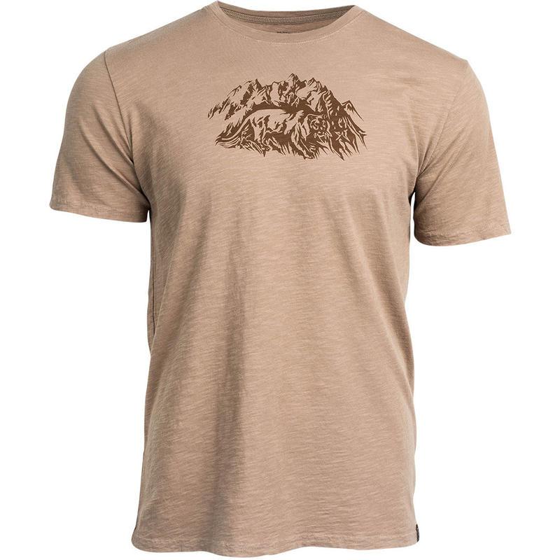 T-shirt Mountain Lion Brun roux
