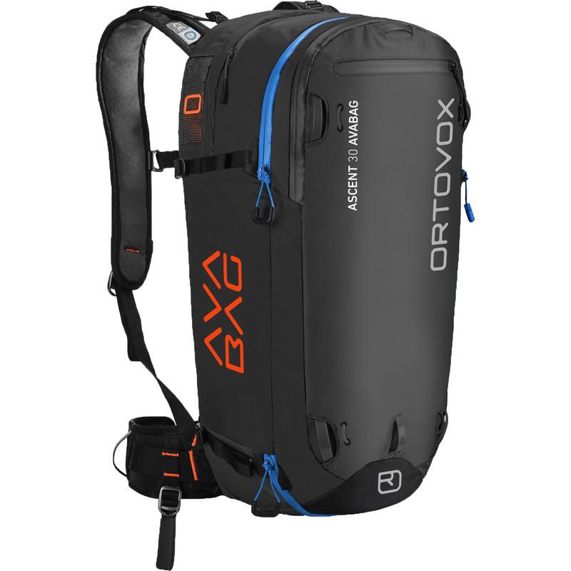 Sac à dos Ascent 30 avec ballon gonflable Avabag Noir/Anthracite