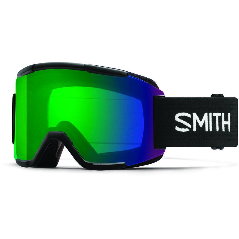 Lunettes de ski Squad Noir/ChromePopVertQuotidien/Jaune