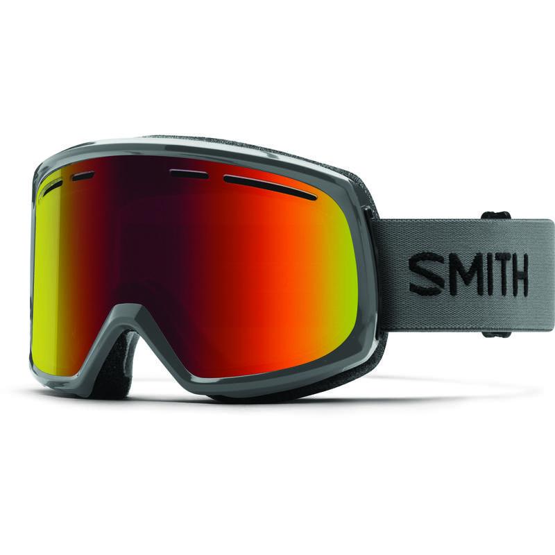 Lunettes de ski Range Charbon de bois/Miroir Sol-X rouge