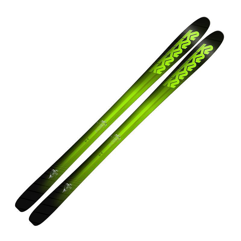 Skis Pinnacle 95 Vert/Noir