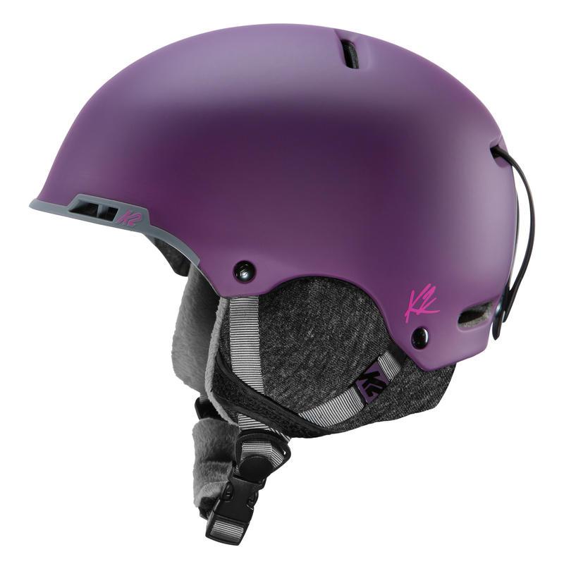 Casque de ski Meridian Rose foncé