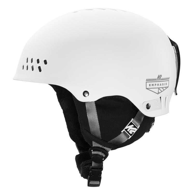 Emphasis Snow Helmet White