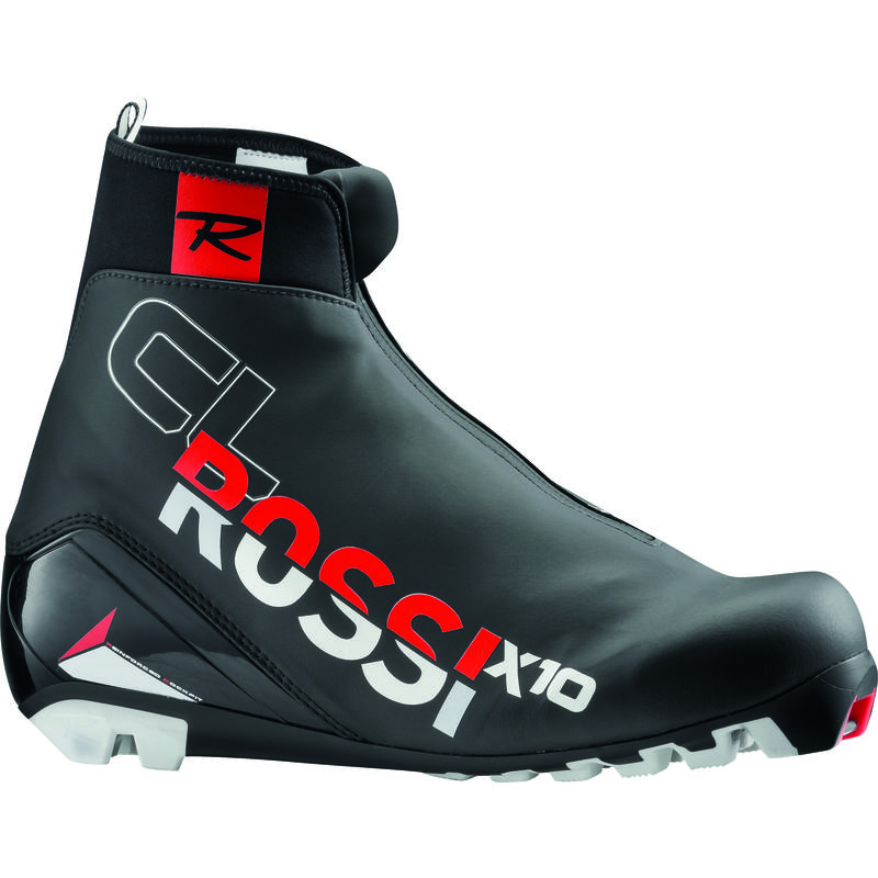 Bottes de ski classique X10 Noir/Rouge