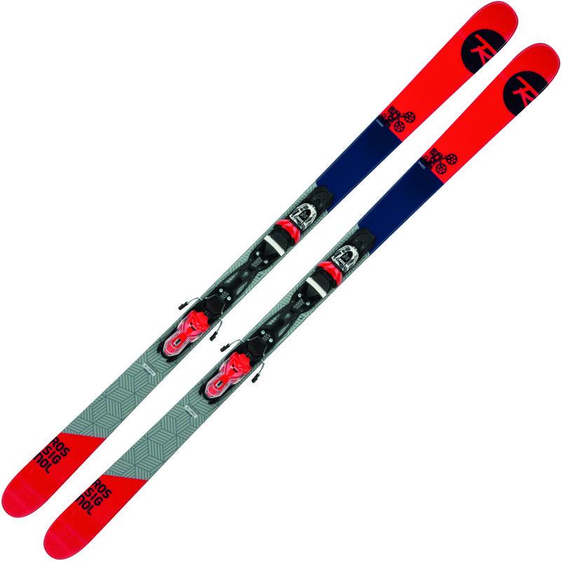 Skis Sprayer avec fixations
