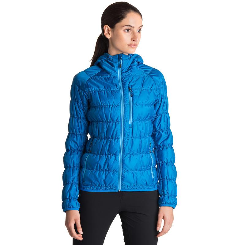 Manteau à capuchon Uplink Bleu électrique