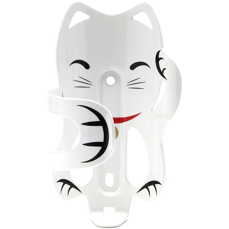 Porte-bouteille Lucky Catky Cat Chat blanc