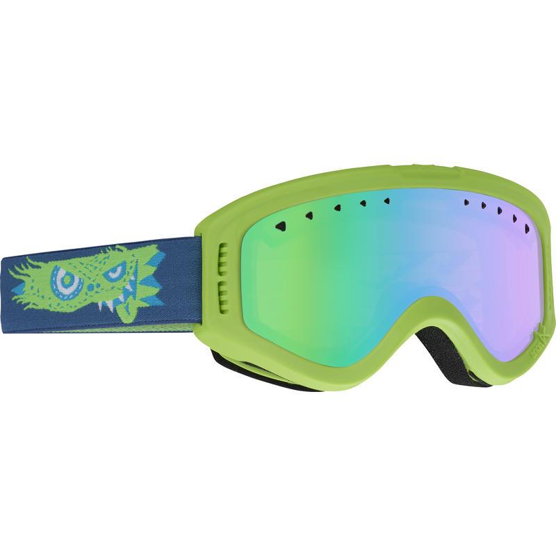 Lunettes de ski Tracker Jr. Gremlin/Ambre vert