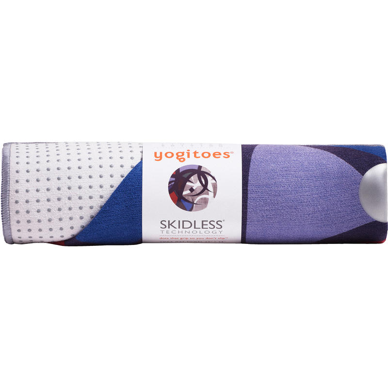 Find helpful customer reviews and review ratings for yogitoes Yoga Mat Towel, Indigo, 80