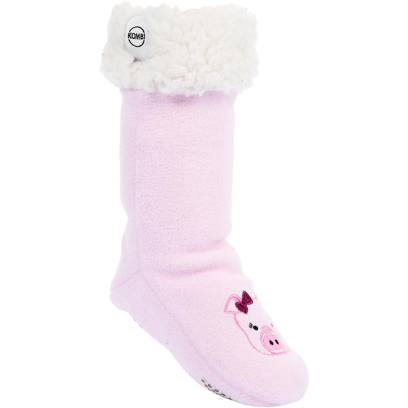 Chaussettes en polaire The Sherpa Animal Pinky le cochonet