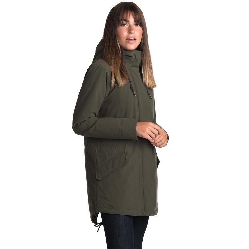 Manteau Kimber Olive noire