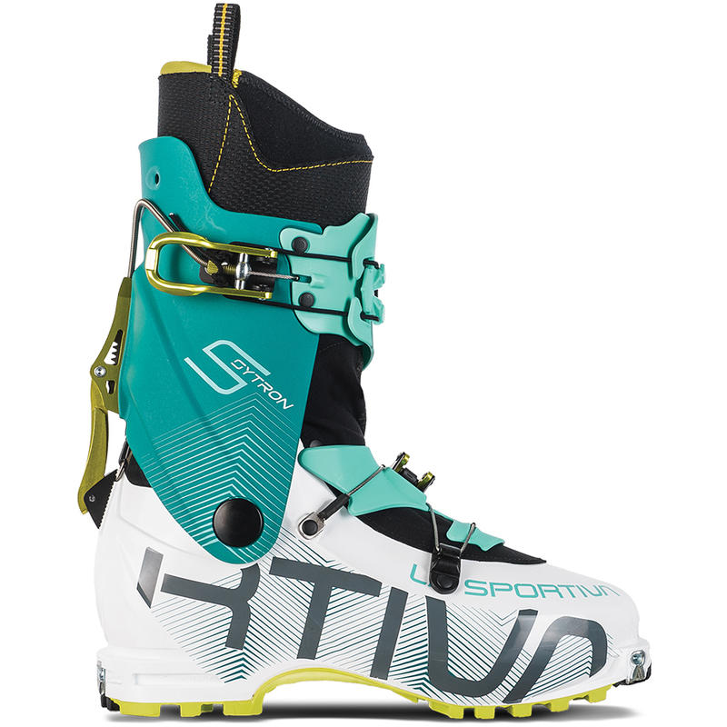 Bottes de ski Sytron Blanc/Émeraude