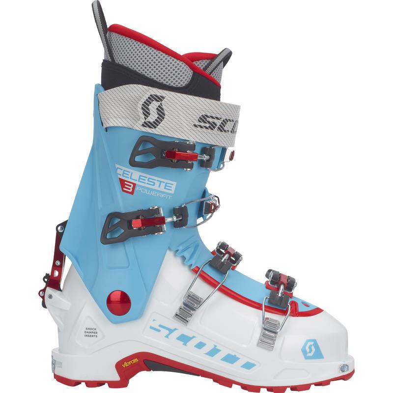 Bottes de ski Celeste III Blanc/Bleu Bermude