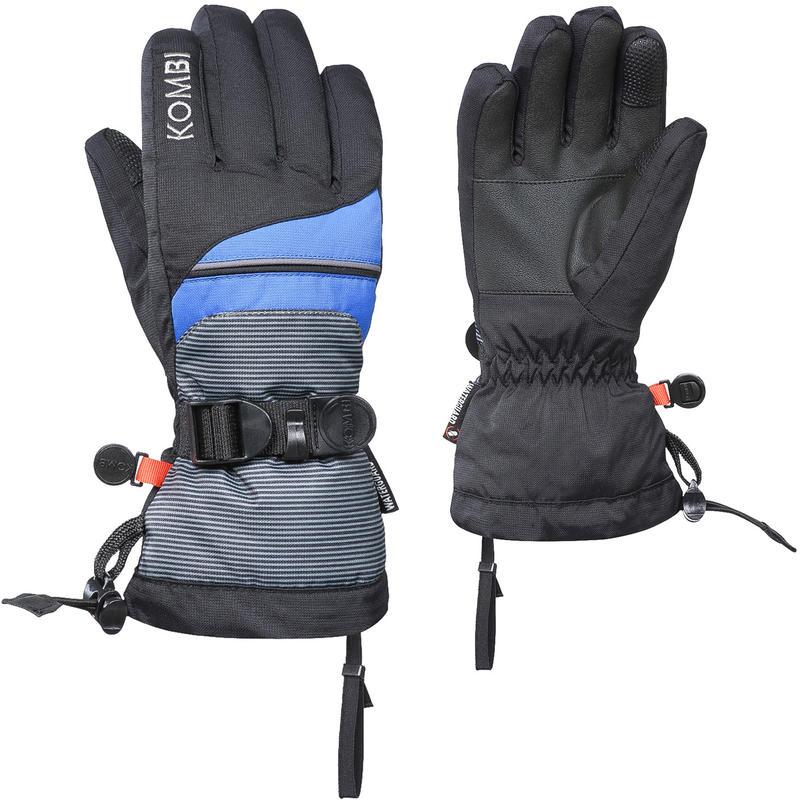 The Funky Gloves Black Micro Stripe/Nordic Blue