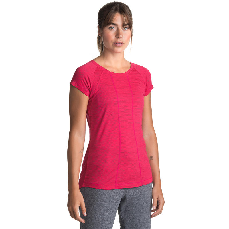 Nephele Merino Short Sleeve Tee Virtual Pink