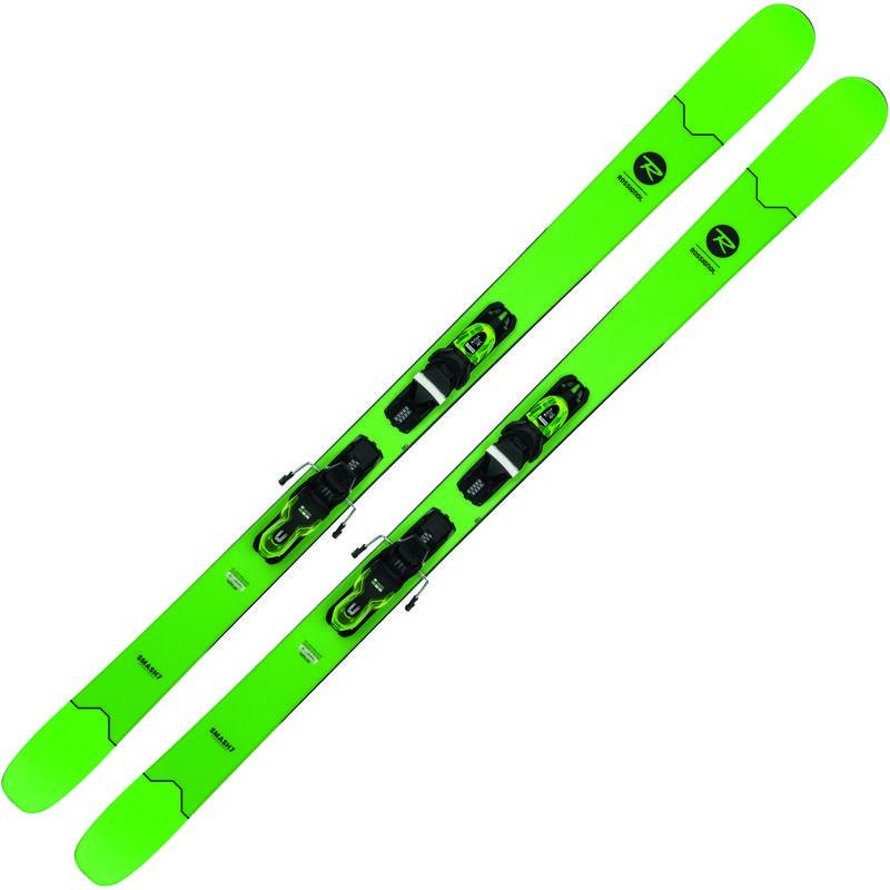 Skis Smash 7 avec fixations