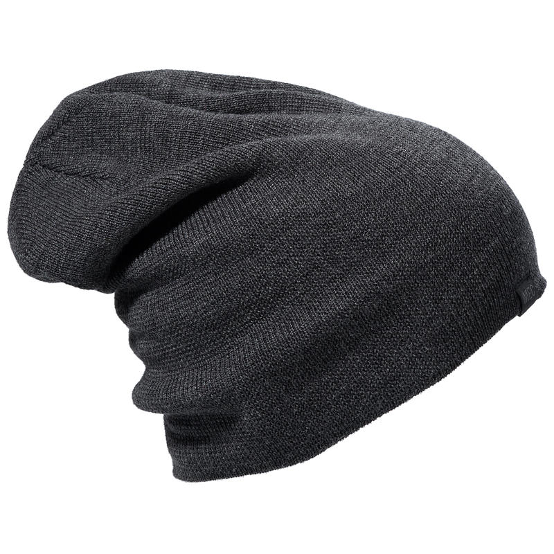 Slouchy Hat Black Heather