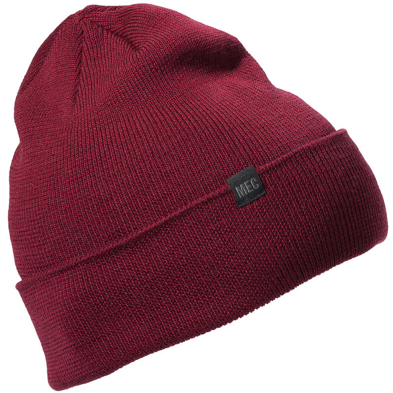 Tuque Slouchy Rouge oxydé