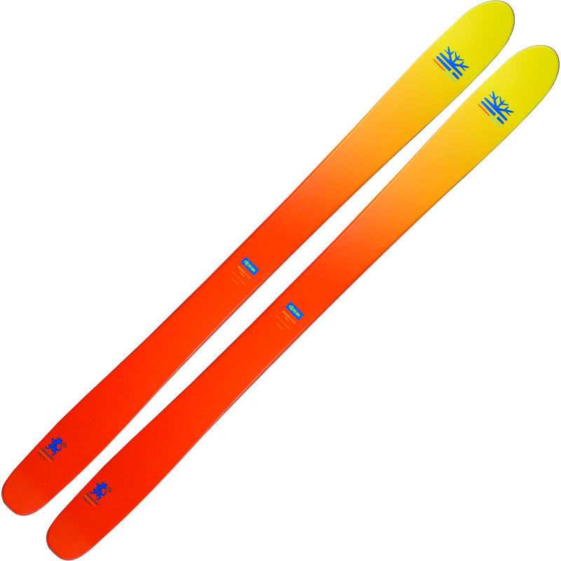 Skis Wailer 112 Foundation Crépuscule jaune