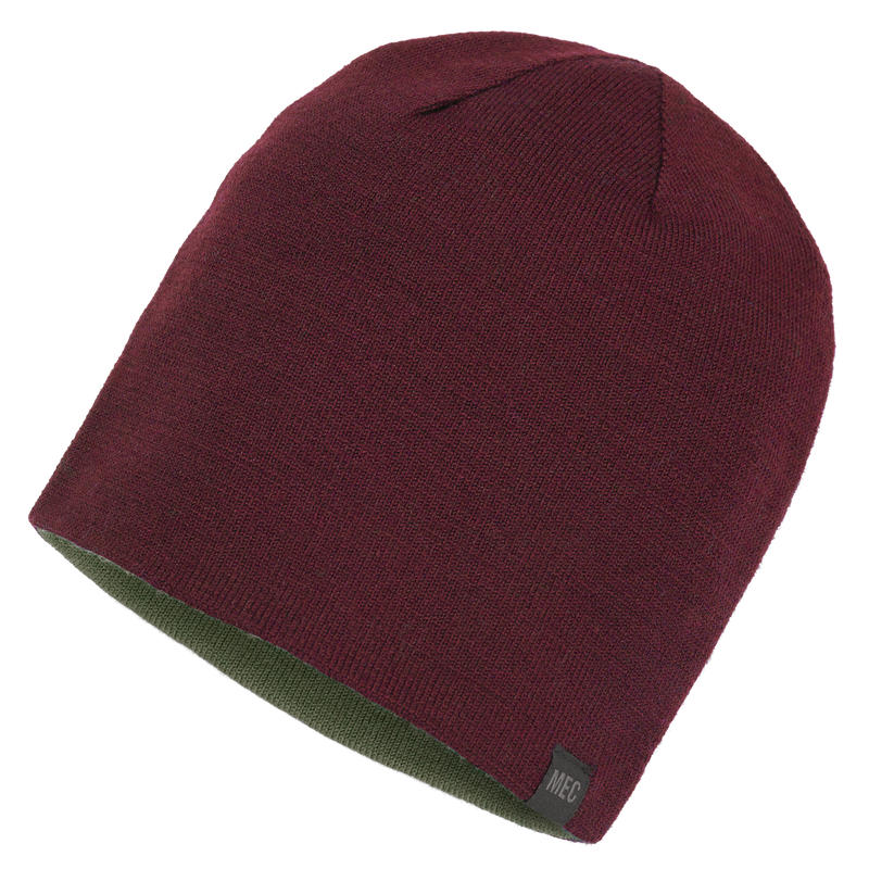 Tuque Basic Rouge oxyde/Écorce