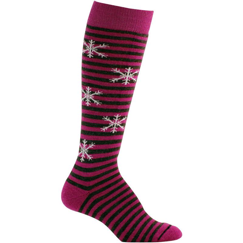 Pippi Ski Socks Berry