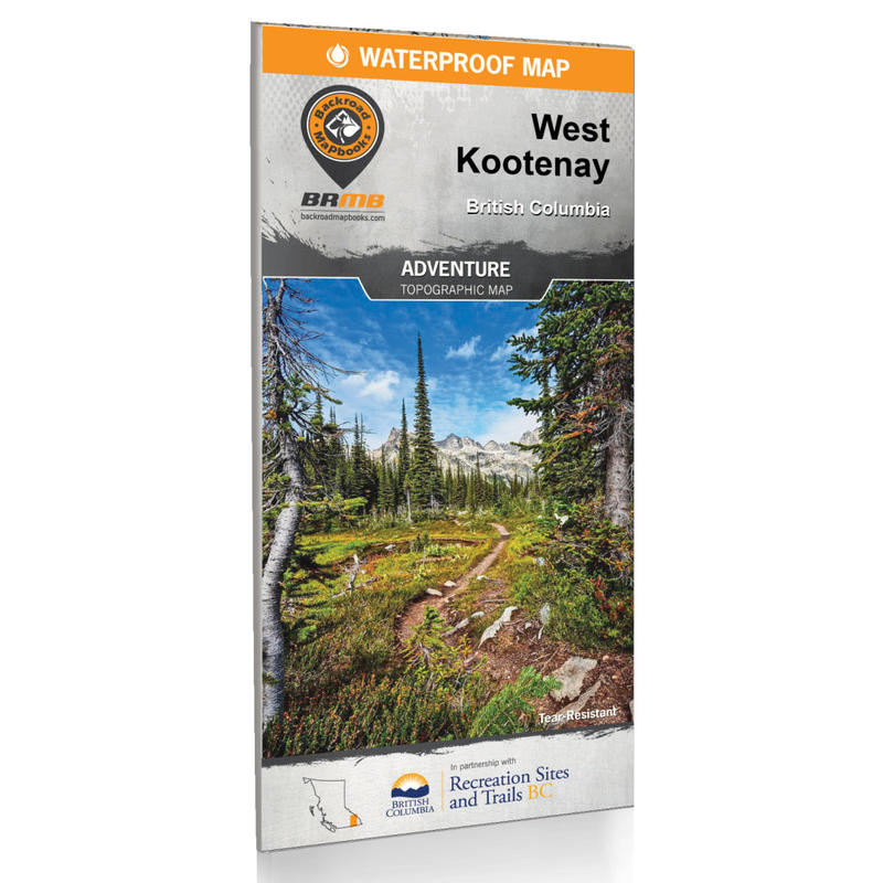 BRMB West Kootenay BC WP Map 2nd Edition