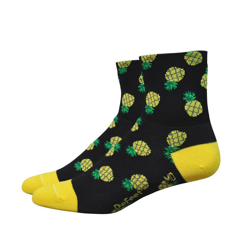 Chaussettes Aireator Pineapple Noir/Jaune