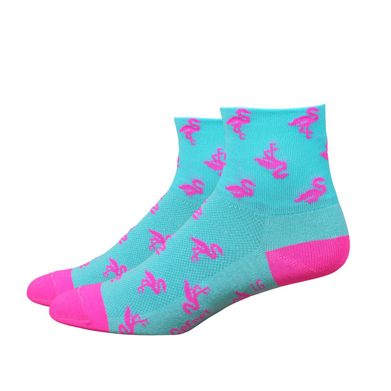 Chaussettes Aireator Flock Off Neptune/Rose